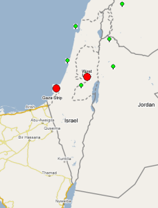 Palestine Case Study - Internet End-to-End Performance Monitoring
